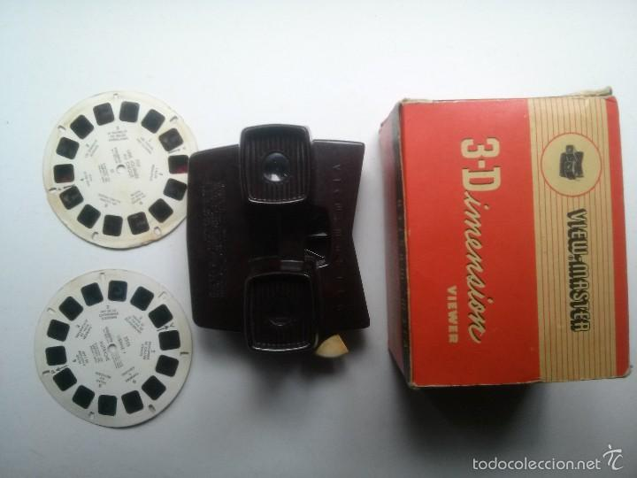 Cámara de fotos: visor View master baquelita - Foto 3 - 57085911