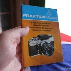 Cámara de fotos: FOLLETO SOBRE LA PRAKTICA VLC 2 (70 PÁGINAS). Lote 57088617
