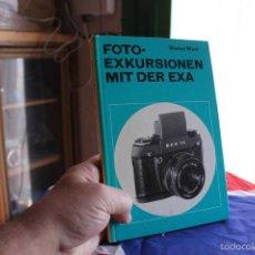 Cámara de fotos: LIBRO SOBRE LA EXAKTA EXA (ALEMÁN). Lote 57088716