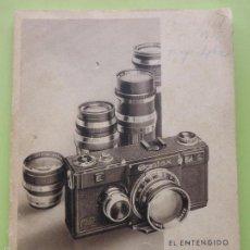 Cámara de fotos - ANTIGUO CATÁLOGO-LIBRO-MANUAL INSTRUCCIONES CÁMARA FOTOS EL ENTENDIDO Y LA CONTAX ZEISS IKON.AÑOS 30 - 57180827
