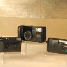 Cámara de fotos: 3CAMARAS CON DEFECTOS NIKOK- CANON- CANON PRIMA. Lote 57197654
