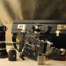 Fotocamere: CAMARA CINE BOLEX H.16 REFLEX 3 OBJETIVOS1.6.F10M 1.2.5-16 X32 KOWA LEM- KERN VARIO SWITAR. Lote 198712448