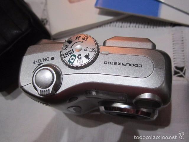 Cámara de fotos: Cámara de fotos Nikon Coolpix 2100, con caja y accesorios. - Foto 3 - 57452525