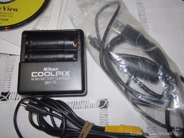 Cámara de fotos: Cámara de fotos Nikon Coolpix 2100, con caja y accesorios. - Foto 5 - 57452525