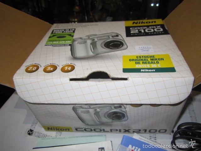 Cámara de fotos: Cámara de fotos Nikon Coolpix 2100, con caja y accesorios. - Foto 7 - 57452525