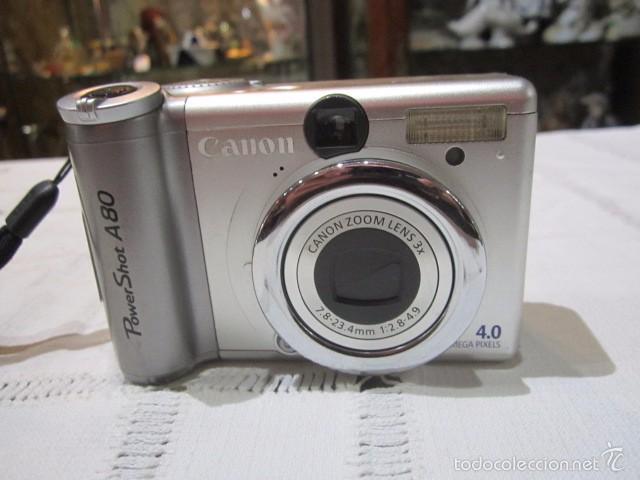 CÁMARA DE FOTOS CANON POWER SHOT A-80 (Cámaras Fotográficas - Otras)