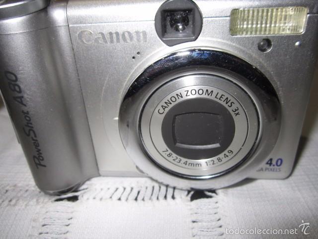 Cámara de fotos: Cámara de fotos Canon Power Shot A-80 - Foto 2 - 57452608