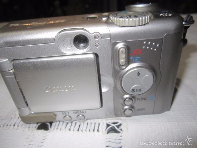 Cámara de fotos: Cámara de fotos Canon Power Shot A-80 - Foto 4 - 57452608