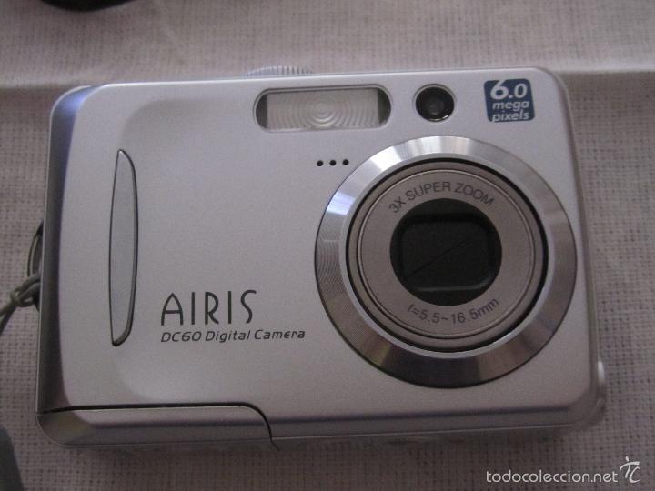 CAMARA DE FOTOS AIRIS DC60 DIGITAL 6 MEGA PIXELS CON FUNDA ,CABLE Y TARJETA (Cámaras Fotográficas - Otras)