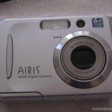 Cámara de fotos: CAMARA DE FOTOS AIRIS DC60 DIGITAL 6 MEGA PIXELS CON FUNDA ,CABLE Y TARJETA. Lote 57543289