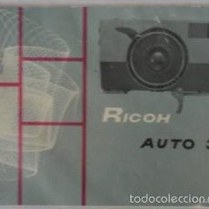 Cámara de fotos: MANUAL DE CÁMARA RICOH AUTO 35, SIN FECHAR, EN INGLÉS. Lote 57661139