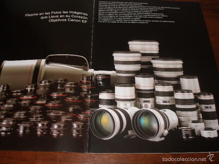 Cámara de fotos: Catalogo objetivos Canon año 1999 - Foto 2 - 57926401