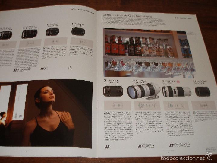 Cámara de fotos: Catalogo objetivos Canon año 1999 - Foto 3 - 57926401