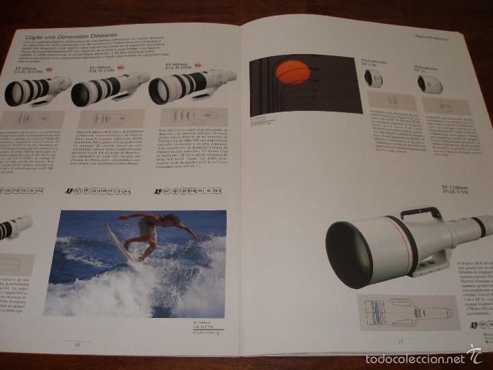 Cámara de fotos: Catalogo objetivos Canon año 1999 - Foto 4 - 57926401
