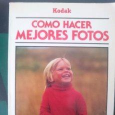 Cámara de fotos: COMO HACER MEJORES FOTOS - KODAK - AÑO 1955. Lote 57929483