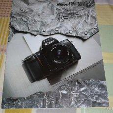 Cámara de fotos: CATALOGO NIKON F801S. Lote 58097545