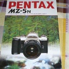 Cámara de fotos: CATALOGO PENTAX MZ-5N. Lote 58097720