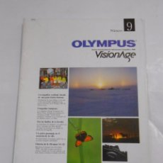 Cámara de fotos: REVISTA OLYMPUS Nº 9. VISIONAGE. THE INTERNATIONAL MAGAZINE OF PHOTOGRAPHIC INFORMATION. TDKR209. Lote 58128887