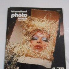Cámara de fotos: INTERNATIONAL PHOTO TECHNIK. MAGAZINE DE LA PHOTOGRAPHIE EN MOYEN ET GRAND FORMATS. 4/78. TDKR20. Lote 58128956