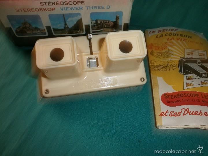 Cámara de fotos: antiguo visor estereoscopico - Foto 2 - 58280204