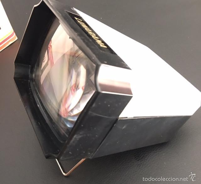 Cámara de fotos: visor de diapositivas años 70 lunarama viewer - Foto 3 - 156662701