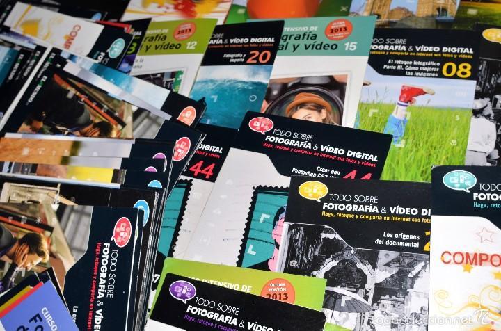 SUPERLOTE DE AL MENOS 100 CD SOBRE FOTOGRAFIA Y VIDEO (Cámaras Fotográficas - Catálogos, Manuales y Publicidad)