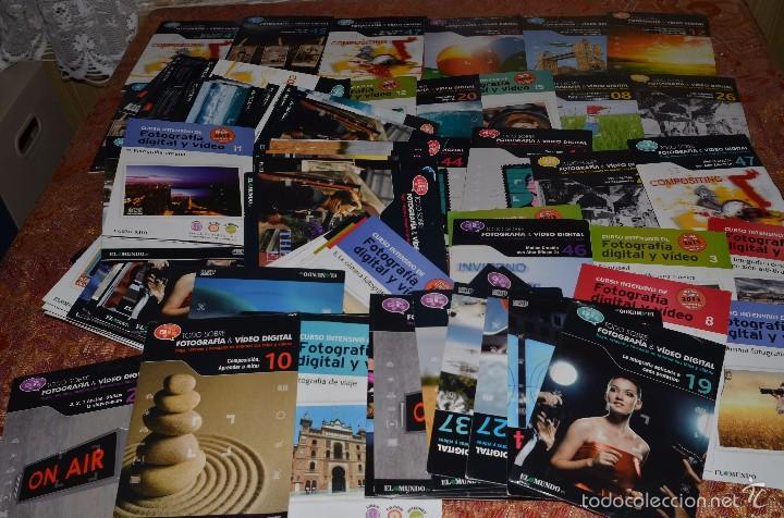 Cámara de fotos: SUPERLOTE DE AL MENOS 100 CD SOBRE FOTOGRAFIA Y VIDEO - Foto 2 - 58495217