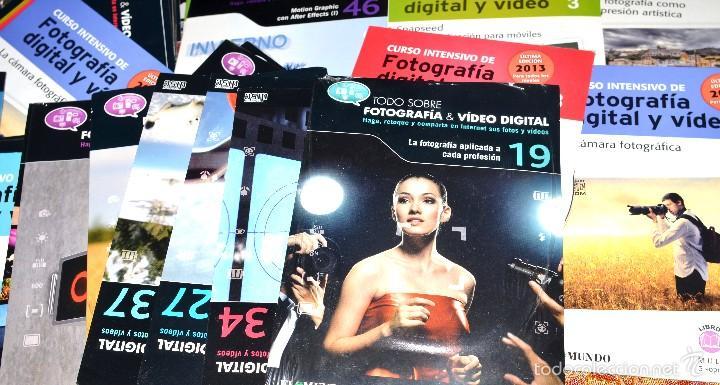 Cámara de fotos: SUPERLOTE DE AL MENOS 100 CD SOBRE FOTOGRAFIA Y VIDEO - Foto 4 - 58495217