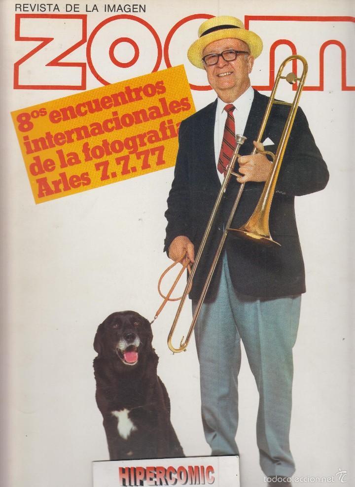 ZOOM Nº 8 : REVISTA DE LA IMAGEN , AÑOS 70 - PORTAFOLIO: VER INDICE (Cámaras Fotográficas - Catálogos, Manuales y Publicidad)