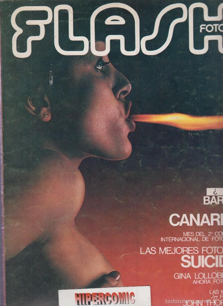 FLASH FOTO Nº 5 - FOTO - IMAGEN Y CINE AÑOS 70 - : VER INDICE - JOHN THORNTON (Cámaras Fotográficas - Catálogos, Manuales y Publicidad)