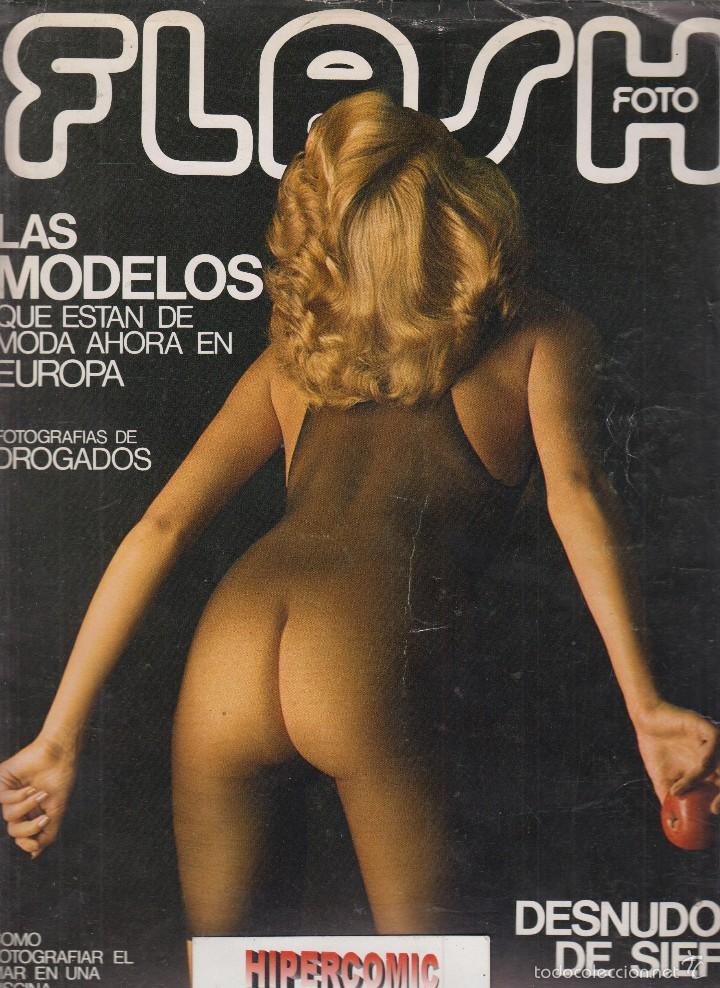 FLASH FOTO Nº 33 - FOTO - IMAGEN Y CINE AÑOS 70 - : VER INDICE - JEANLOUP SIEFF (Cámaras Fotográficas - Catálogos, Manuales y Publicidad)