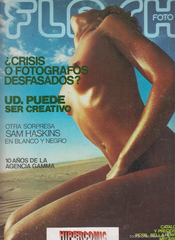 FLASH FOTO Nº 36 - FOTO - IMAGEN Y CINE AÑOS 70 - : VER INDICE (Cámaras Fotográficas - Catálogos, Manuales y Publicidad)