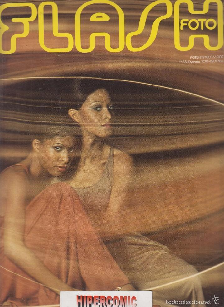 FLASH FOTO Nº 56 - FOTO - IMAGEN Y CINE AÑOS 70 - : VER INDICE - (Cámaras Fotográficas - Catálogos, Manuales y Publicidad)