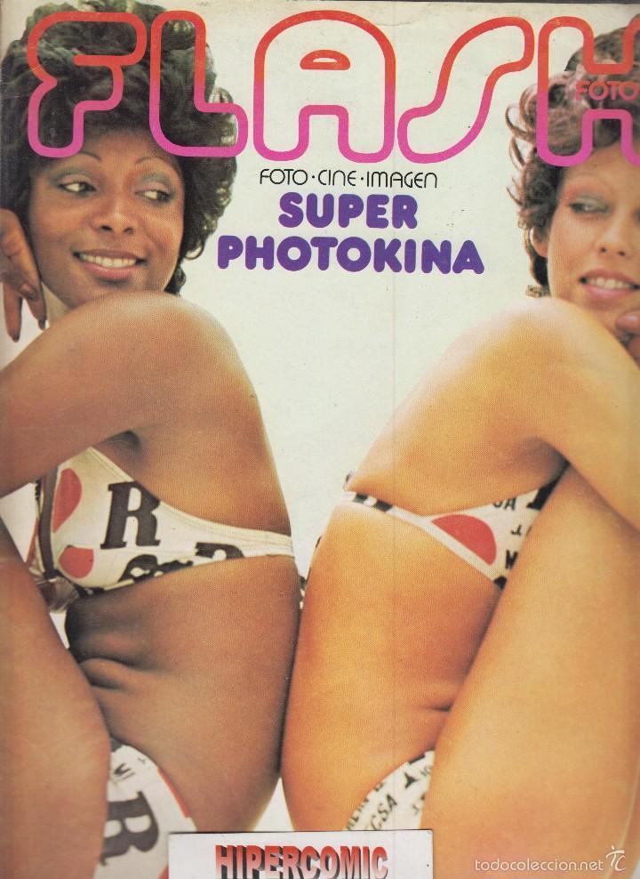 FLASH FOTO Nº 6 - FOTO - IMAGEN Y CINE AÑOS 70 - : VER INDICE - (Cámaras Fotográficas - Catálogos, Manuales y Publicidad)