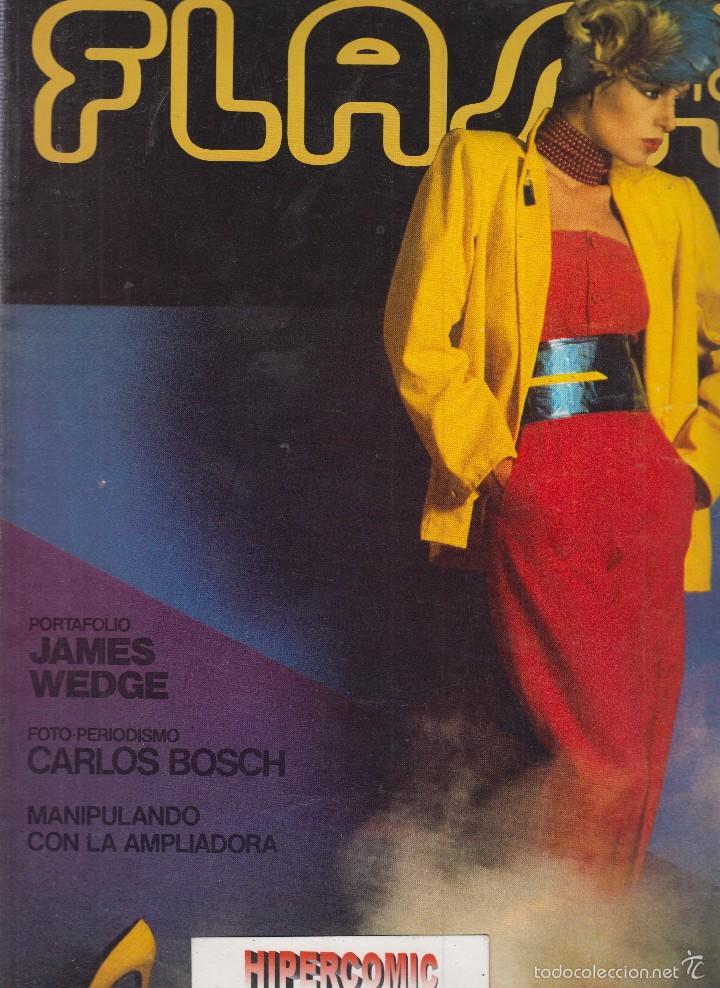 FLASH FOTO Nº 55 - FOTO - IMAGEN Y CINE AÑOS 70 - : VER INDICE - PORTAFOLIO JAMES WEDGE (Cámaras Fotográficas - Catálogos, Manuales y Publicidad)