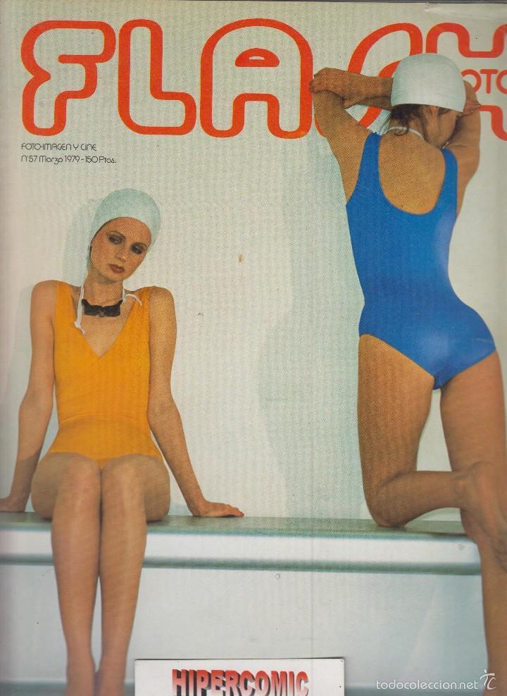 FLASH FOTO Nº 57 - FOTO - IMAGEN Y CINE AÑOS 70 - : VER INDICE - PORTAFOLIO SAM HASKINS (Cámaras Fotográficas - Catálogos, Manuales y Publicidad)
