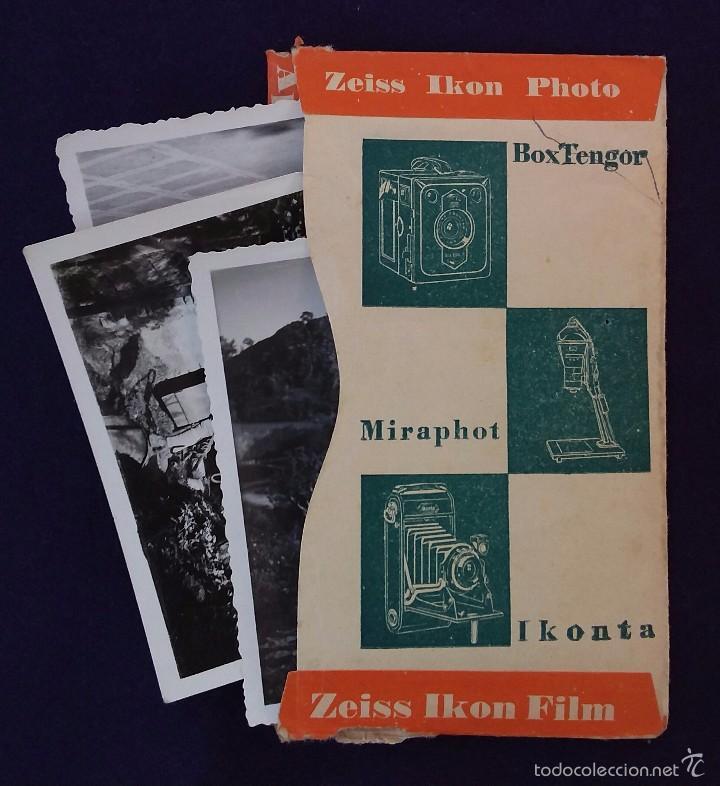 ANTIGUO PORTA NEGATIVOS ZEISS CON FOTOS. AÑOS 50. 13X8CM. FOTOGRAFIA- CAMARA FOTOGRAFICA. (Cámaras Fotográficas - Catálogos, Manuales y Publicidad)