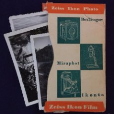 Cámara de fotos: ANTIGUO PORTA NEGATIVOS ZEISS CON FOTOS. AÑOS 50. 13X8CM. FOTOGRAFIA- CAMARA FOTOGRAFICA.. Lote 60180083