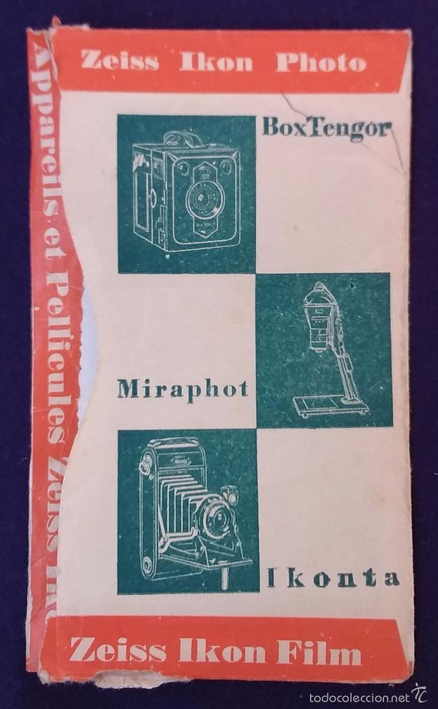 Cámara de fotos: Antiguo porta negativos Zeiss con fotos. Años 50. 13x8cm. Fotografia- Camara fotografica. - Foto 2 - 60180083