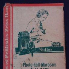 Cámara de fotos: ANTIGUO PORTA NEGATIVOS ZEISS IKON CON FOTOS. AÑOS 40. 16X11CM. FOTOGRAFIA- CAMARA FOTOGRAFICA.. Lote 60180835