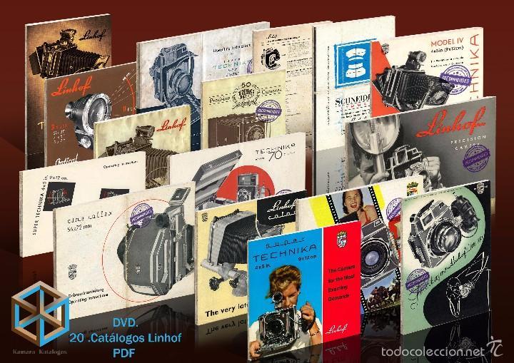 DVD 20 CATÁLOGOS LINHOF (Cámaras Fotográficas - Catálogos, Manuales y Publicidad)