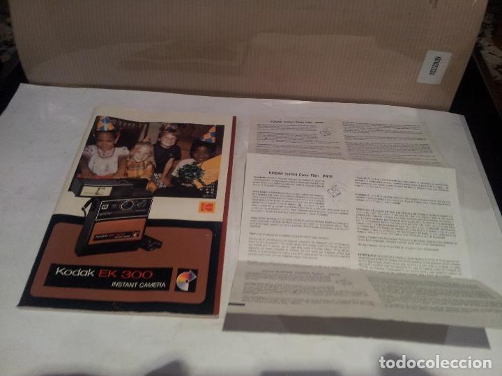 Cámara de fotos: camara de fotos kodak EK300 instant años 70 con su caja ver fotos - Foto 7 - 61429667