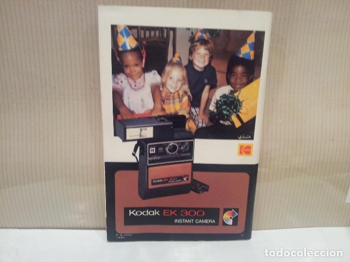 Cámara de fotos: camara de fotos kodak EK300 instant años 70 con su caja ver fotos - Foto 9 - 61429667