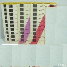 Cámara de fotos: 4 X LAMINA VISTAS 3D - PARA VISOR LESTRADE - LOURDES - AÑOS 60 - 10 VISTAS CADA UNA. Lote 61859180