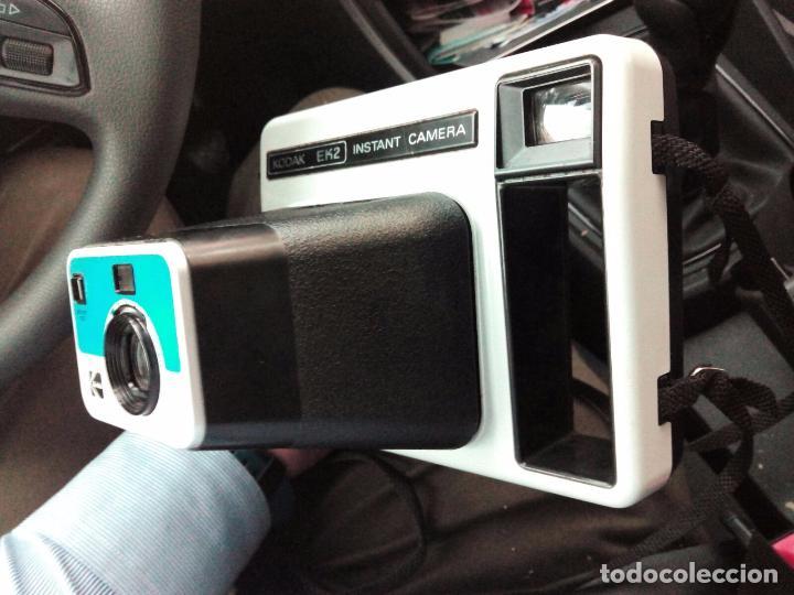 Cámara de fotos: Camara de fotos antigua Kodak Ek2 - Foto 5 - 62019232