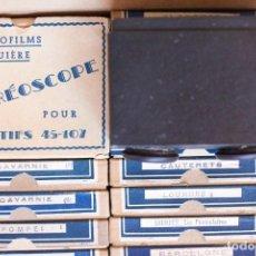 Cámara de fotos: VISOR STÉRÉOFILMS BRUGIÈRE PARA POSITIVOS 45-107. Lote 62244344