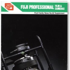 Cámara de fotos: FUJI PELÍCULAS Y CÁMARAS PROFESIONALES (1986). Lote 62918108
