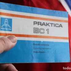 Cámara de fotos: INSTRUCCIONES PRAKTICA BC-1. Lote 63273172
