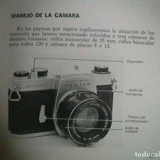 Cámara de fotos: CÁMARA REFLEX FOTOGRAFÍA EN BLANCO Y NEGRO. Lote 63651095