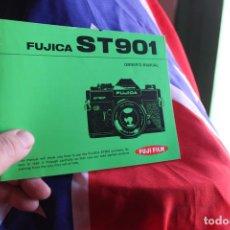 Cámara de fotos: FOLLETO SOBRE LA FUJICA ST 901. Lote 64021355